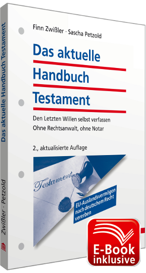 Cover: Handbuch Testament
